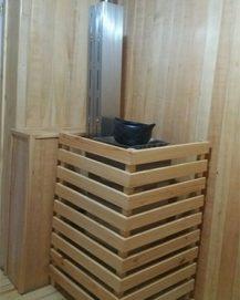 Sauna a gas
